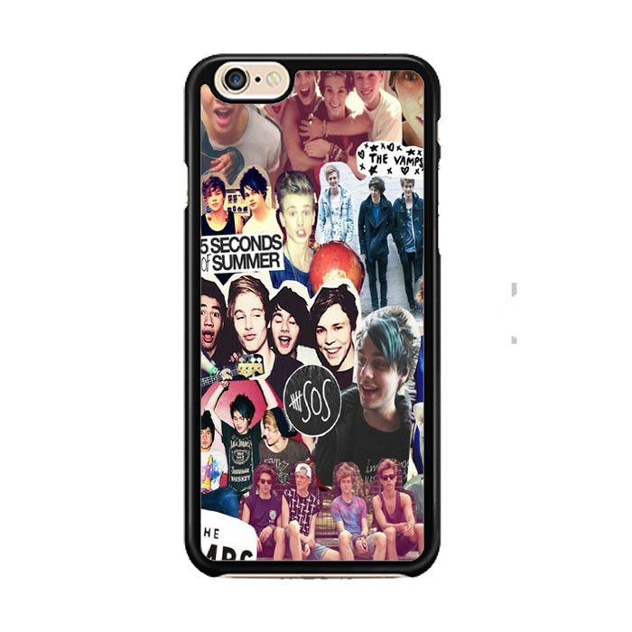 5 Second of Summer and The Vamps Collage IPhone 6  6 Plus Cases