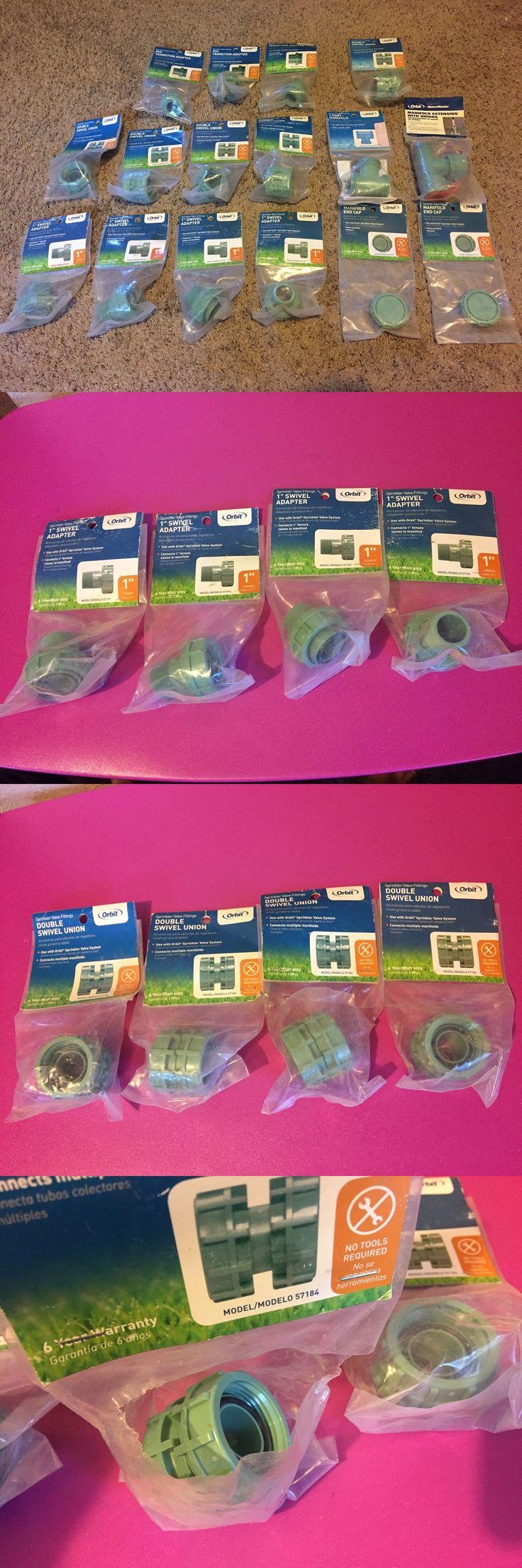 Valves 75673: Lot Of 16 Orbit Swivel Adapter Valve Manifold Parts Sprinkler Systems Valves Lot -> BUY IT NOW ONLY: $95 on eBay!