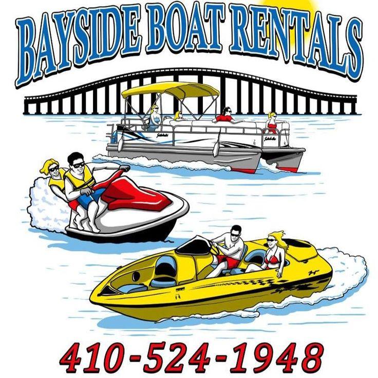 Bayside boat rentals ocean city md boat rental ocean