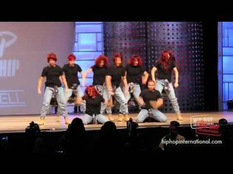 (HD) REQUEST DANCE CREW NZ- HIP HOP INTERNATIONAL 2011 - SILVER MEDAL AD...