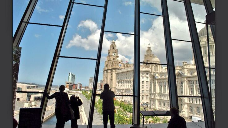 View from the Museum of Liverpool, Waterfront http://brilliantliverpooltours.com