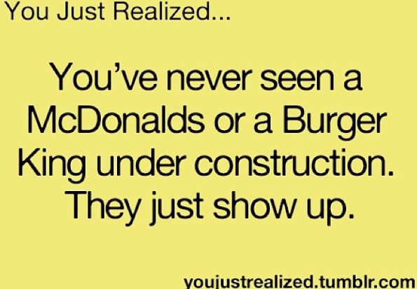 Burger King and McDonald's