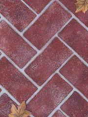 Herringbone Bricks Wall Mural Stencils Includes Six Bricks In A Classic  Pattern, Plus Fallouts For Trompe Lu0027oeil Stencil Shading.