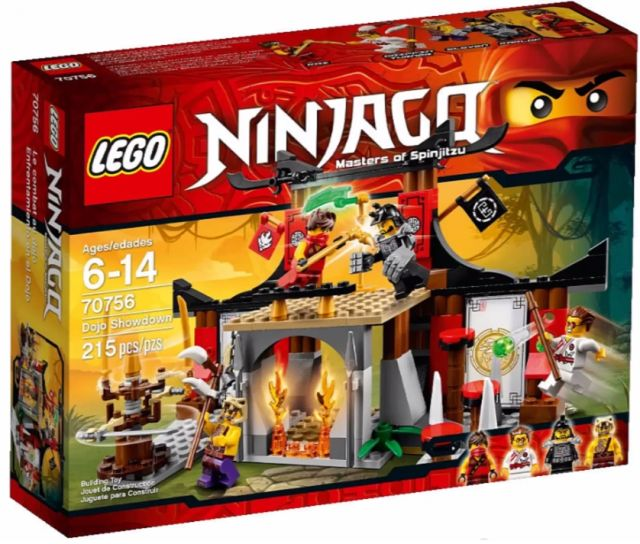 2015 LEGO Ninjago Dojo Showdown 70756 Set Winter 2015 LEGO
