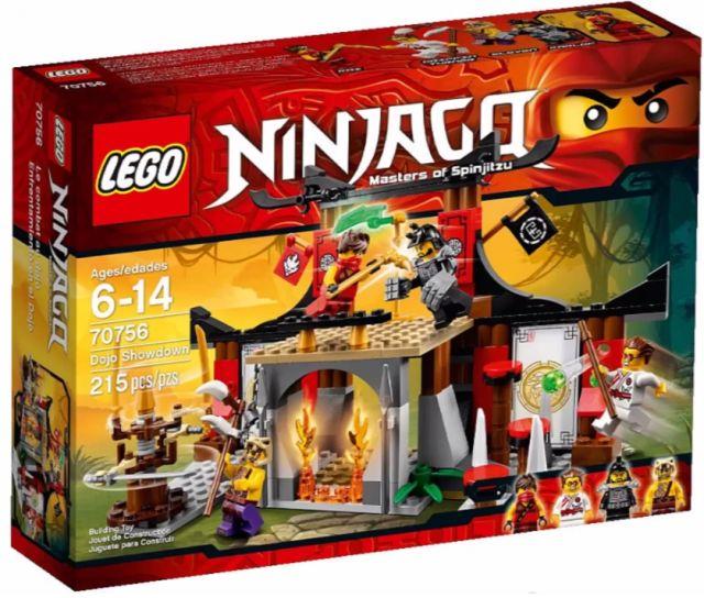 2015 LEGO Ninjago Dojo Showdown 70756 Set Winter 2015 LEGO