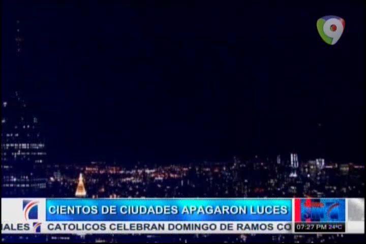 """Cientos De Ciudades Apagaron Sus Luces En """"La Hora Del Planeta"""" #Video"""