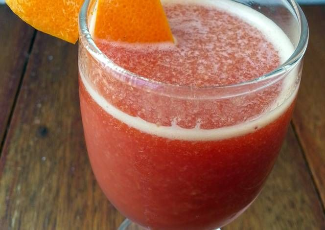 Tomato And Orange Juice Recipe -  Yummy this dish is very delicous. Let's make Tomato And Orange Juice in your home!