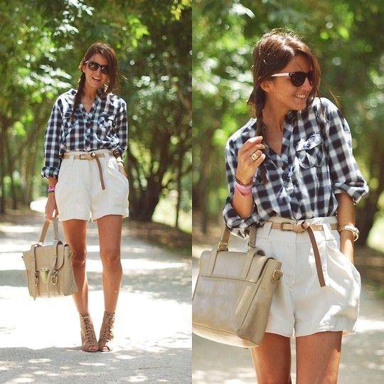 Alexandra Per - Westrags Shirt, Su Shi Bag, H&M Shorts, Zara Wedges, Marc By Jacobs Sunglasses - The duck