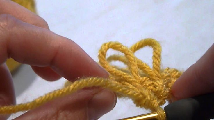 Instructions start right around :45 seconds. ERM - Stitch Scene: How to crochet the Loop stitch