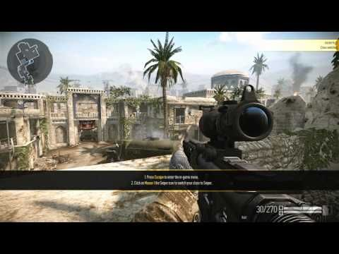 Warface - Training gameplay - Warface is a Free-to-Play Action, First Person Shooter (FPS) MMO ...