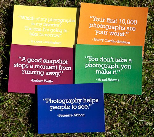 Photography quotes :)