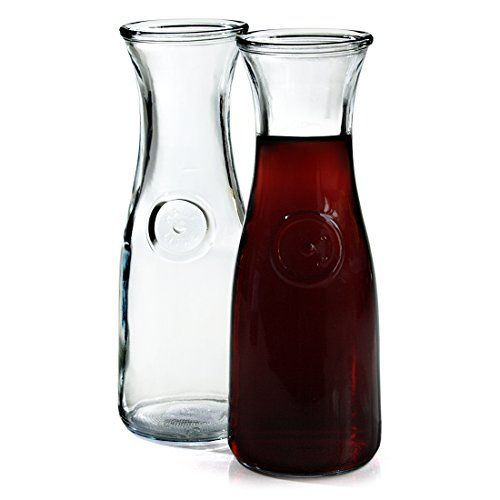 Anchor Hocking 05 Liter Glass Wine Carafe Set of 2 * To view further for this item, visit the image link.