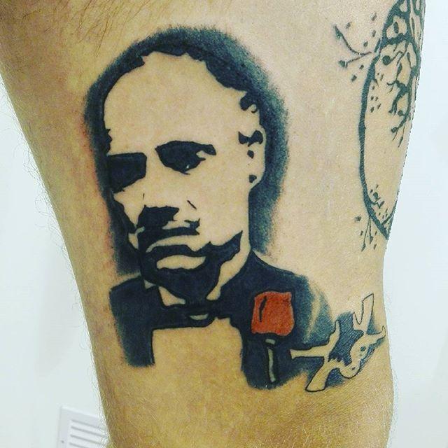 #tattoo#tattoos#ink#inktattoo#tatuage#tatuaggios#tatuaggio#tatuajes#tatuagem#instatattoos#tattoosofinstagram#ubi777#ilpadrino#corleone#donvitocorleone#donvito#ubitattoo#mafia#spaghettibaffineriemandolino#tattoospowercrew#