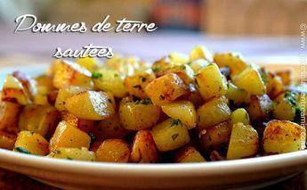 Cette recette de pommes de terre sautées me vient de mon enfance. Bien plus qu'une recette, c'est un souvenir d'images de ma grand-mère avec son tablier à carreaux faisant sauter …