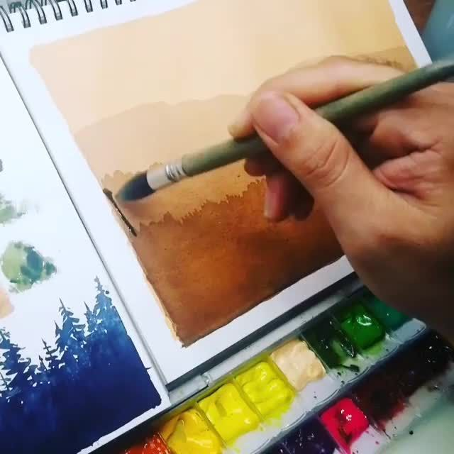 Best Watercolor Art On Instagram Rate This Art 1 1000