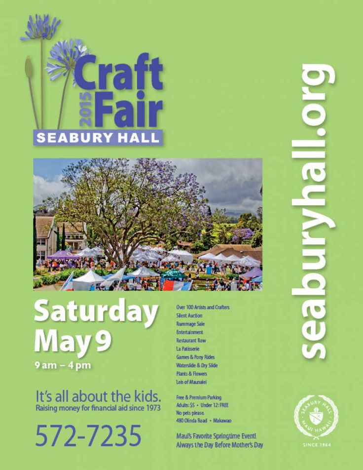 Seabury Hall Craft Fair