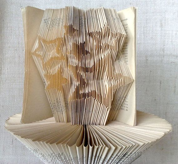 Book folding pattern and FREE Tutorial  6 Stars  by PatternsStore