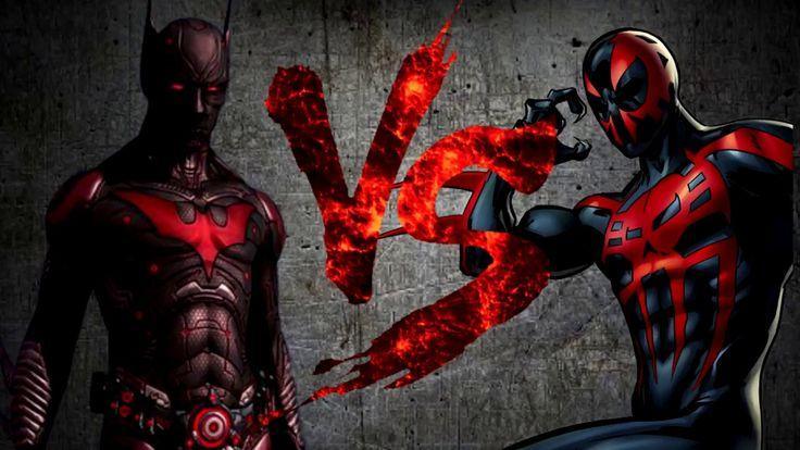 Бэтмен Будущего VS Человек-Паук 2099 [Bifrost Fight Club 3 0]