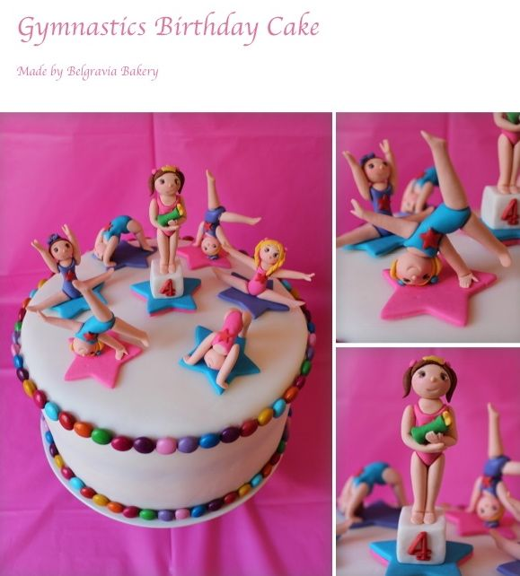 Gymnastic Cakes made By Belgravia Bakery