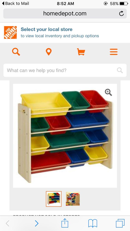 Toy Storage Home Depot 3988 Online Only Three Kids One  sc 1 st  Listitdallas & Home Depot Toy Storage - Listitdallas