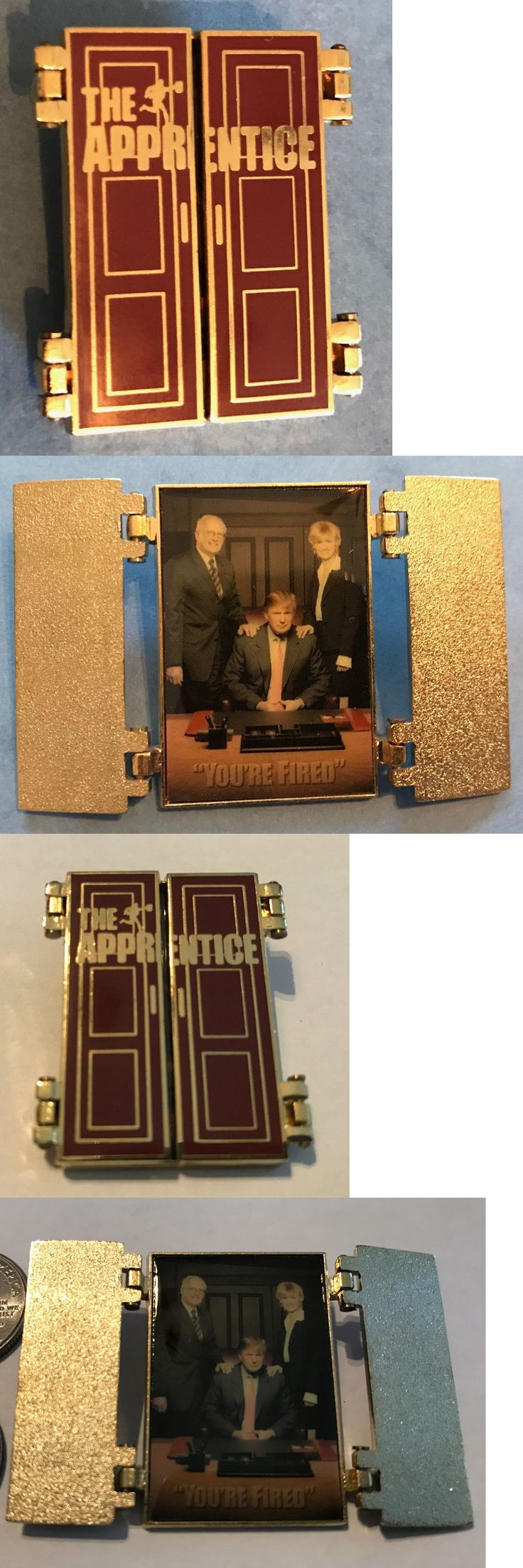 donald trump: Donald Trump The Apprentice Hat Jacket Lapel Pin Novelty Political President Htf -> BUY IT NOW ONLY: $8.0 on eBay!