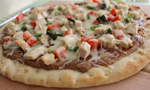 Appehtite - Thai Chicken Pizza for Two from