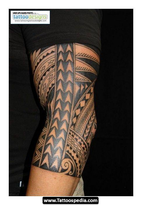 Half Sleeve Polynesian Tattoos 02.jpg - http://tattoospedia.com/half-sleeve-polynesian-tattoos-02-jpg/