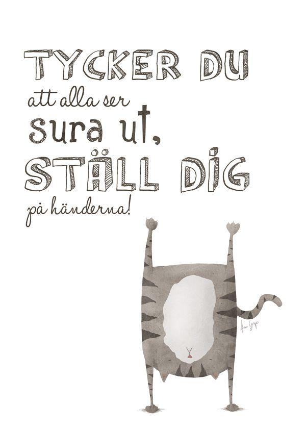 Ställ dig på händerna | A Grape Design, ConfidentLiving.se