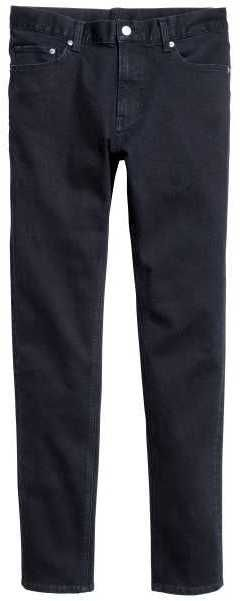 H&M - Skinny Low Jeans - Dark denim blue - Men