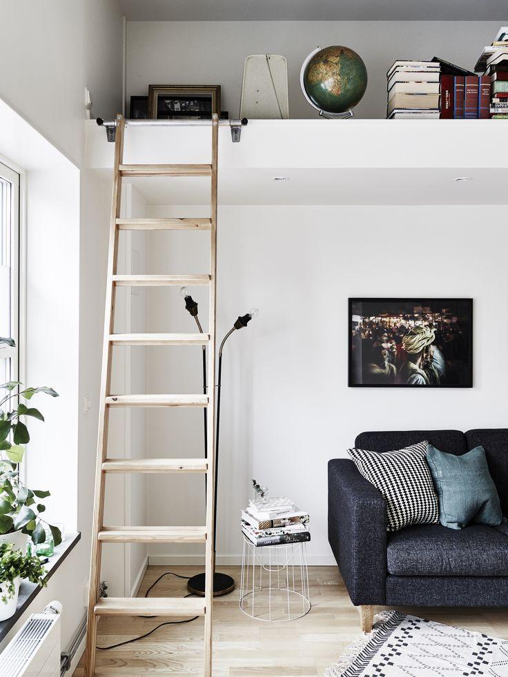 Vardagsrum loft