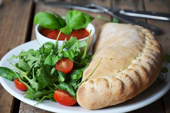 Kublanka vaří doma - Pizza calzone