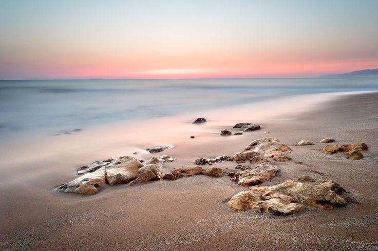 Before sunrise on the beach