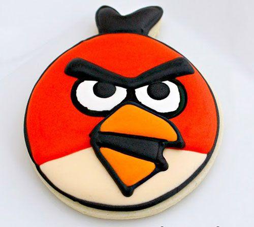 Galletas Angry Birds (Pájaro rojo) | EntreChiquitines