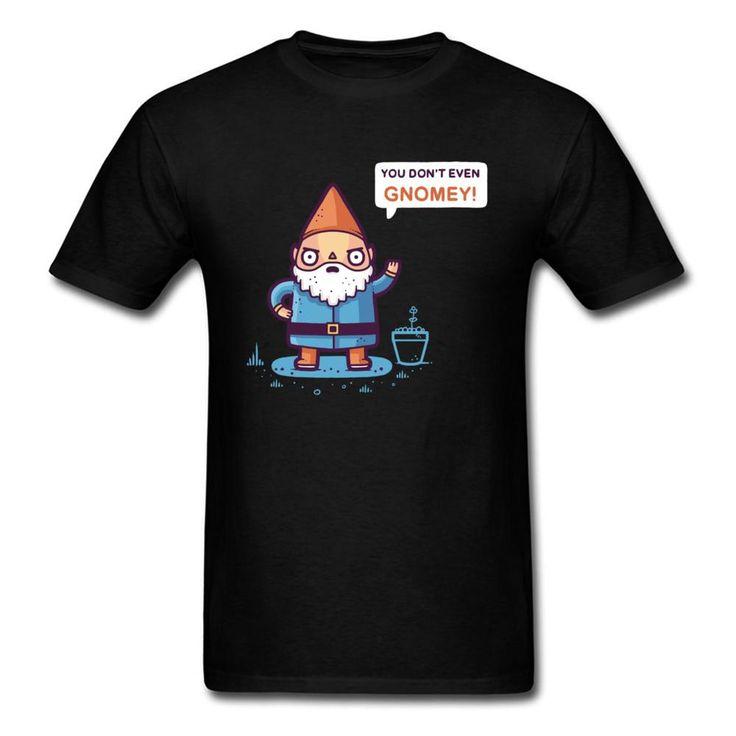 Chillin With My Gnomies T-shirt Men Funny Tops Tees Dwarf Cartoon T Shirt Christmas Gift Boyfriend Xmas Present Tshirt. Yesterday's price: US $19….