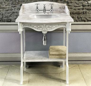 Victorian bathroom sink