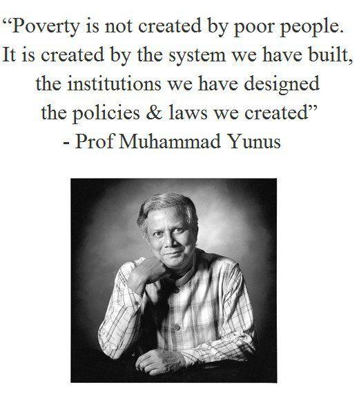 yunus quote muhammadinspirational