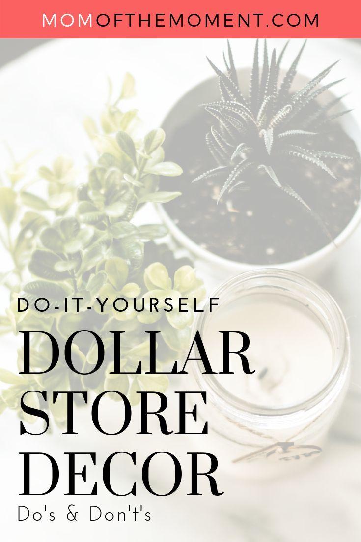 DIY Dollar Store Decor