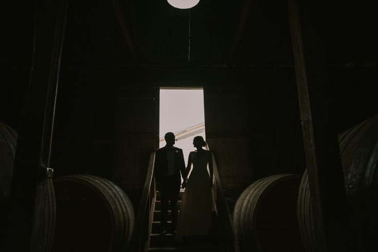 Natt + Greg | all you need is light and barrels | photography by Cam Grove
