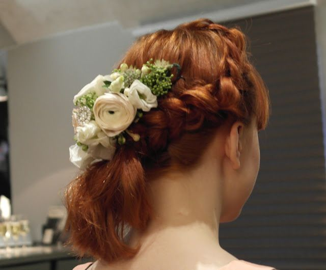 Kevin Murphy ja kesätuulet 2016 | Kristallikimara - #Janne_Caro from #ParoneDesign made #hairaccessories of real Flowers and crystals