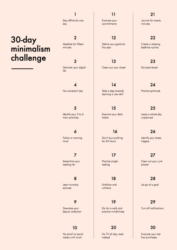 """I Completed a 30-Day Minimalism Challenge In Order to """"Live More Simply"""" And Have Less Stuff - xoJane"""