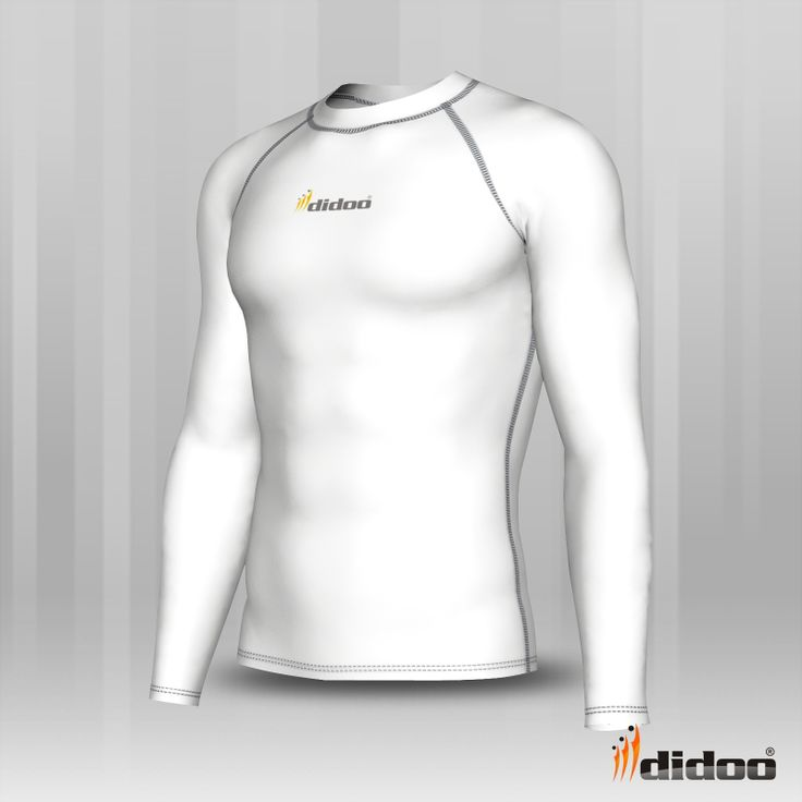 This Shirt has an ergonomic design with a flat seam construction, designed to reduce chafing and Improve the fit to enhance performance. This product is 100% Genuine and come with tags.  Ideal as a base layer or for training, Didoo Shirts are a tight fit compression garment. All Season Compression Baselayer which keeps you cool when its hot and keeps you hot when its cool. The light and tight compression fit is built to move with you for zero distractions,