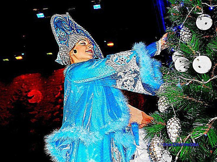 ДЕТСКИЙ НОВОГОДНИЙ СПЕКТАКЛЬ стю Елизаветинская прошёл с большим  успехом