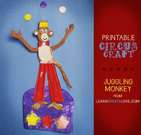 Preschool Circus Activities Crafts
