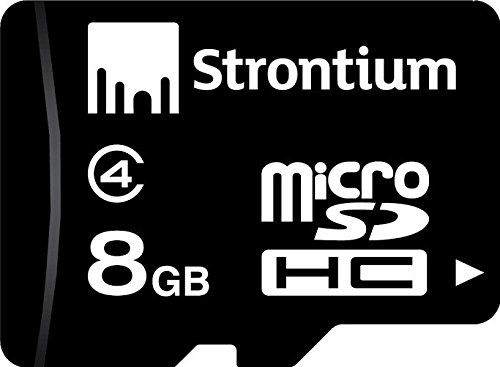 Class 4 8GB MicroSDHC Strontium at Rs 201 with Shipping