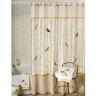Curtains Ideas bird shower curtain hooks : 1000+ ideas about Bird Shower Curtain on Pinterest | Shower ...