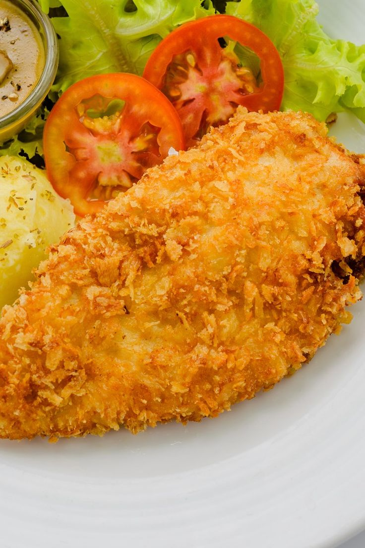 Crispy Baked Parmesan and Cheddar Chicken Recipe - 9 Weight Watchers SmartPoints