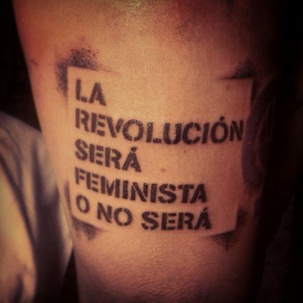 27 ideias de tatuagens feministas