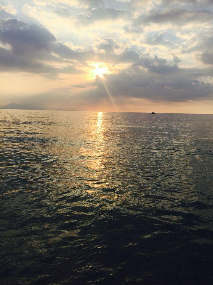 Sunset at Nipah Beach