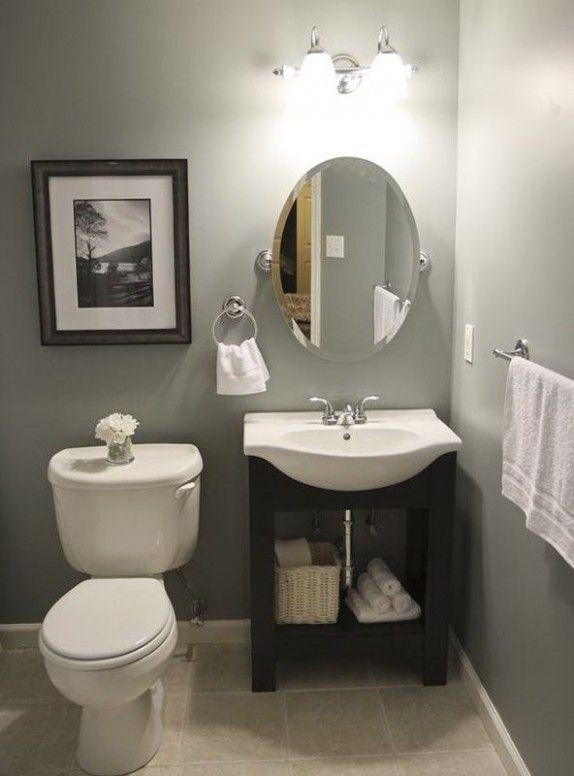 Small Bathroom Ideas On A Budget Uk 1000 In 2020 Half Bathroom Decor Guest Bathroom Small Small Half Bathrooms