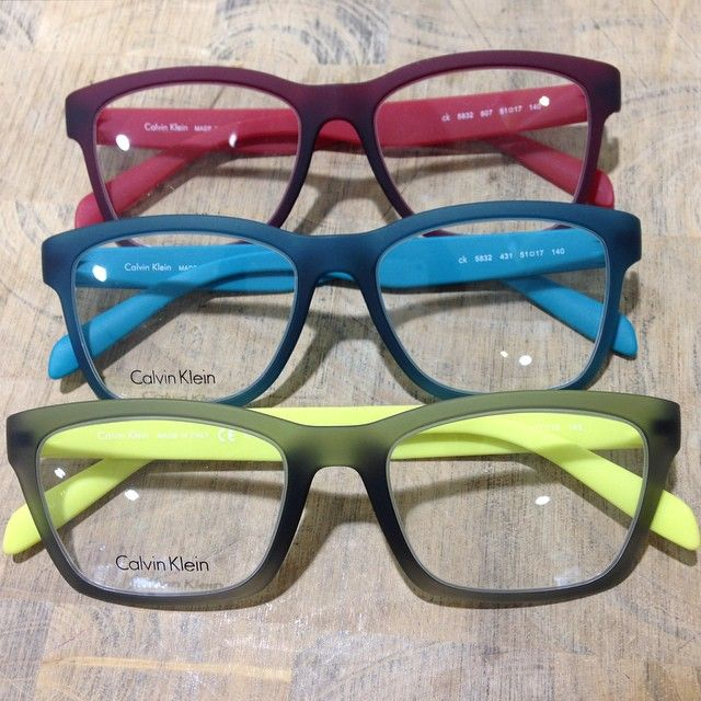 Third one for Calvin Klein ck optical from our Treetops store. Love the colour combinations. Super lightweight frames too. Come and try them on and see how good they feel and look!